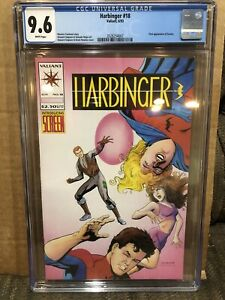Harbinger 18 CGC 9.6 1993 Direct Market Edition DM Valiant Comics 1st Screen