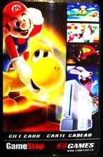Super Mario EB Games collectible gift card No Value BILINGUAL