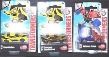 Set of 3 Transformers Robots in Disguise Series 1 Die-Cast 100% Brand New