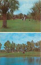 Parrish FL~Palmetto Pines Golf Course~Golfers~Carts~Joe Stursa PGA Pro~1960s