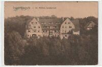 Ansichtskarte Dresden-Loschwitz - Dr. Möllers Sanatorium - 1920 - schwarz/weiß
