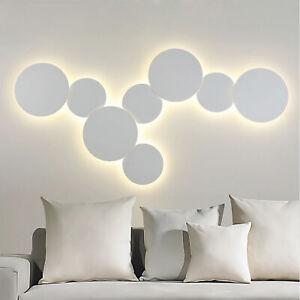 Modern White Round Led Wall Light 4W / 7W / 10W