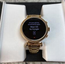 Fossil Women's Gen 4 Sloane  Touchscreen Smartwatch, Color: Rose Gold-OPEN BOX