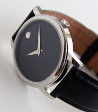 MOVADO Men's Watch, MUSEUM model, MO.01.1.14.6000, FULL SIZE, Mint Condition