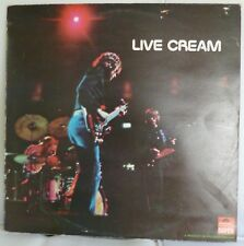 "Cream Live 12"" Vinyl LP Album Polydor Records 2383 016 G+/EX"