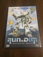 RUN = DIM COMANDOS DEL ESPACIO DVD + EXTRAS - 80 MIN - UNIVERSAL EN BUEN ESTADO