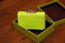 Ted Baker Flipsi Colourblock Olive Leather Matinee Purse BNWT