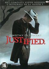 Justified : Seizoen 5 / Saison 5 (3 DVD)