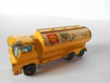 Husky TOY PETROL TANKER-BP SHELL Advertising-Yellow - 7 cm long