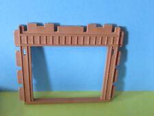 Playmobil pared grande marco madera Safari 3433 3770 3669 4305 estación de mercancías