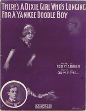 There's A Dixie Girl Who's Longing For A Yankee Doodle Boy, Murray Whiteman,1911