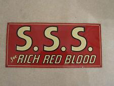 Oddity Blood Red Sign SSS Tonic Plasma Doctor Nurse Hospital Apothocary Oddity