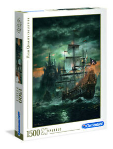 Clementoni 31682 Das Piratenschiff 1500 Teile Puzzle High Quality Collection