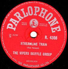 GEORGE MARTIN -THE VIPERS 78 STREAMLINE TRAIN / RAILROAD STEAMBOAT PARL R4308 E+