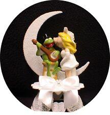 MISS PIGGY KERMIT FROG Wedding Cake Topper Muppet top Moonlight Funny pig