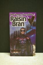 1997 KELLOGG RAISIN BRAN 3D LENTICULAR BATMAN AND ROBIN MOVIE ADVERTISEMENT CARD