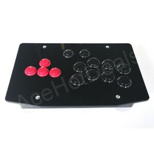 RAC-J501B All Buttons Arcade Fight Stick Controller Hitbox Style Joystick For PC