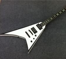 Starshine Custom Bulid Flight V Electric Guitar Ebony Fingerboard Abalone Inlay
