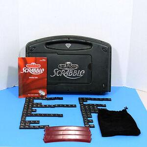 60th Diamond Scrabble Single Tile Combine Shipping Piece Part Black Silver G251