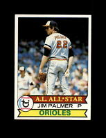 1979 Topps Baseball #340 Jim Palmer AS All Star (Orioles) NM