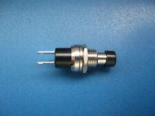 Miniatur-Taster Schließer PBS-10B-2 Schwarze Kappe