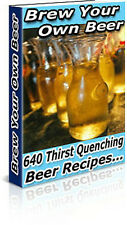 Brew Your Own Beer at Home + Wine Spirits Making Liquor on CD