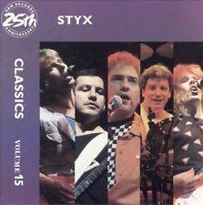 Styx - Classics Volume 15 (CD, 1987, A&M Records, USA)