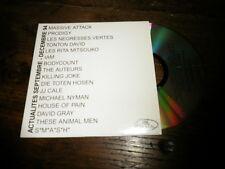 MASSIVE ATTACK - NEGRESSES VERTES - RITA MITSOUKO - I AM - KILLING JOKE CD PROMO