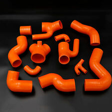 For Audi S4 RS4 Biturbo A6 B5 2.7L Bi-Turbo 1997-2001 Silicone Boost Hose Orange