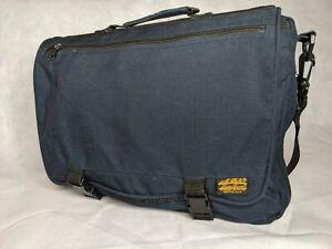 Eddie Bauer Outdoor Outfitters Seattle USA Computer Shoulder Bag. Navy Blue