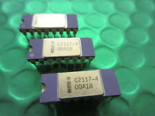 C2117-4 INTEL (16,384 x 1) Collectable DRAM - Purple Ceramic Gold Top and Pins