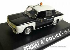 Renault 8 Policía police  1:43 coche Universal Hobbies Diecast