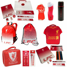 Liverpool FC School Sets - Gym Bag Backpack Boot Bottle for Boys and Girls