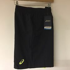ASICS Mens Black Running Shorts 2 in 1 Training Sports Gym Shorts Size XXL