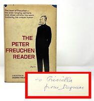 Dagmar / Peter Freuchen - The Peter Freuchen Reader - SIGNED 1st 1st - SCARCE
