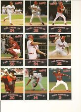 2007 Memphis Redbirds Complete Retail Set - NM/MT