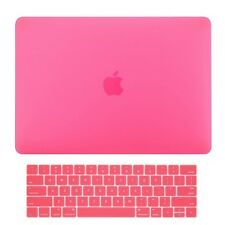 2in1 Hot Pink Matte Hard Case+Keyboard Skin for Macbook Pro 15 WITH Touch Bar