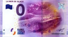74 CHAMONIX La mer de glace, 2017, Billet 0 € Souvenir