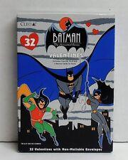 1994 Batman the Animated Series Valentines Day Cards (32) NIB
