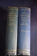 1905/7 *SCARCE* A Staff Officers Scrap Book V1 & V2 Russo Japanese War
