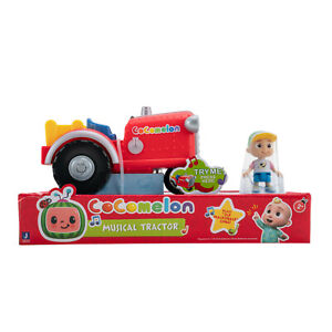 COCOMELON MUSICAL TRACTOR JJ FIGURE AND VEHICLE OLD MAC DONALD SONG