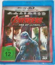 Avengers Age of Ultron 3D + 2D   Blu Ray  Marvel