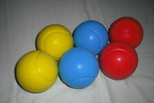 Softball, Therapieball, Schaumstoffball 6 Stück 3 Farben