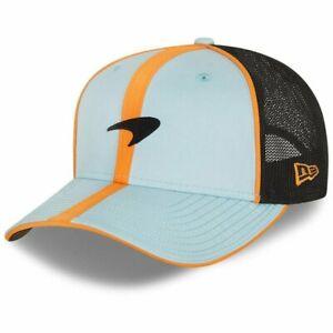McLaren F1 Essentials New Era 9Fifty SS Gulf Collaboration Trucker Hat