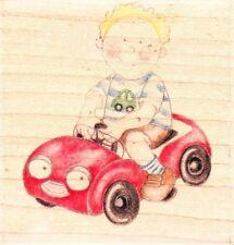 Toddler AUTOMOBILE-JOLLY nazione-Wood MONTATO TIMBRO