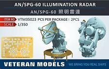 VETERAN 1/350 VTM-35023 AN/SPG-60 ILLUMINATORS RADAR