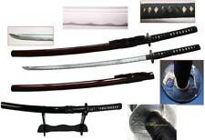 Handmade Battle Ready Sharp Japanese Samurai Toyotomi Hideyshi Wakizashi Katana
