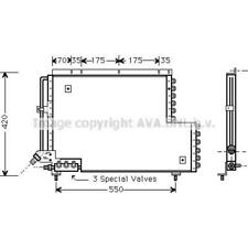 Capacitor Air Conditioning Volvo 940 II Combi 945 740 745 964 965