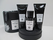 """ACQUA DI PARMA-COLONIA ESSENZA"" PROFUMO UOMO 100ml SPRAY+AFTER SHAVE+GEL DOCCIA"