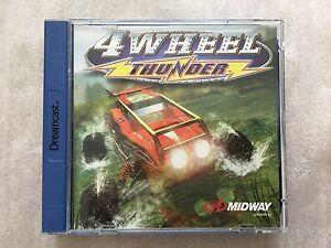 Sega Dreamcast Game 4 WHEEL THUNDER